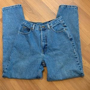 Vtg Eddie Bauer tapered leg mom jeans